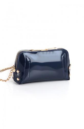 Navy Blue Shoulder Bag 10513LA