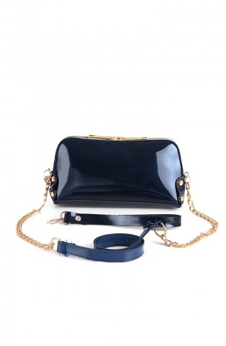 حقيبة كتف أزرق كحلي 10513LA