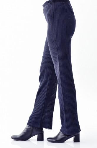 Wide Leg Pants  1991-09 Navy Blue 1991-09
