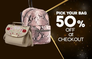 Choose Your Bag 50% Discount on Cart