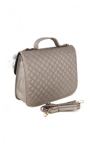 Silver Gray Shoulder Bags 20082GU