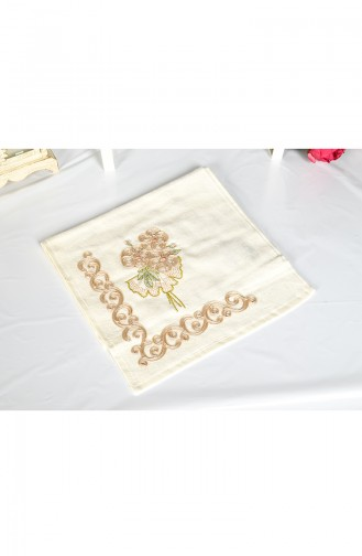 Cotton Pearly 30X50 Hand Towels 3442-02 Beige 3442-02