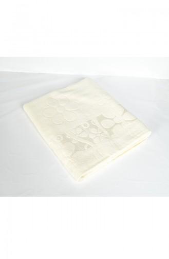 Cotton Jacquard 100X150 Bath Towel 3470-01 Cream 3470-01