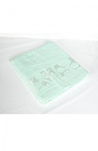 Cotton Jacquard 100X150 Bath Towel 3470-03 Water Green 3470-03