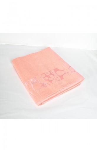 Cotton Jacquard 100X150 Bath Towel 3470-06 Orange 3470-06