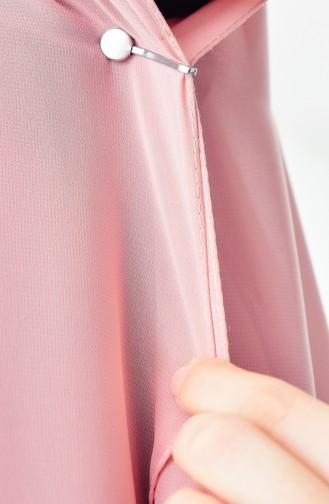 Silbergrau Schal Kopftuch Nadel 0001-08