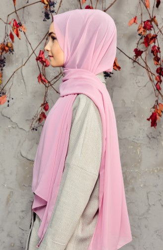 Light Dusty Rose Shawl 50025-42