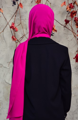 Long Chiffon Shawl 50025-62 Violet 50025-62