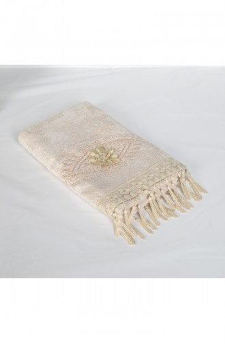 Bamboo Laced 50X90 Face Towel 3453-02 Beige 3453-02