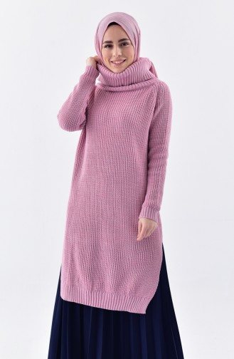 Polo-neck Knitwear Sweater 4023-16 Powder 4023-16
