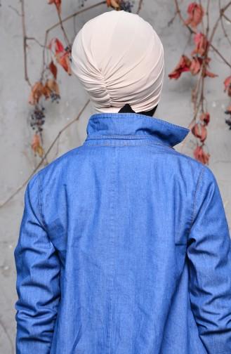 Bonnet a Noeud 0027-04 Beige 0027-04