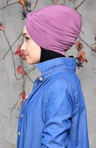 Bonnet a Noeud 0027-11 Rose Pâle 0027-11