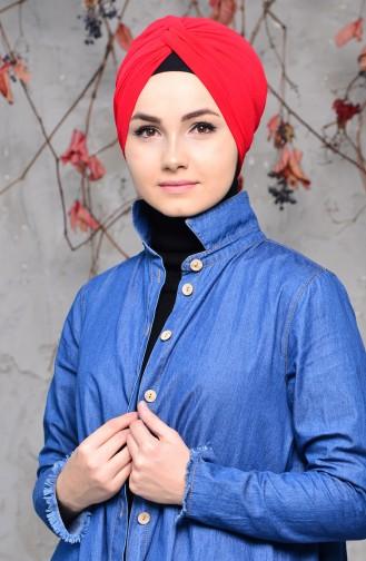 Fertig Bonnet 0027-20 Rot 0027-20