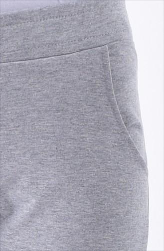 Pockets Tracksuit Bottoms 1341-01 Gray 1341-01