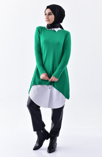 Knitwear Sweater 4016-10 Green 4016-10