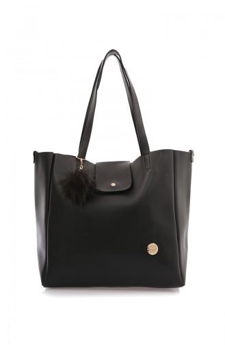 Black Shoulder Bags 37Z-01