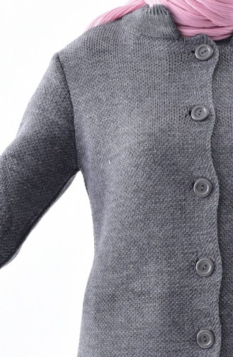 Buttons Knitwear Cardigan 3916-07 Smoked 3916-11