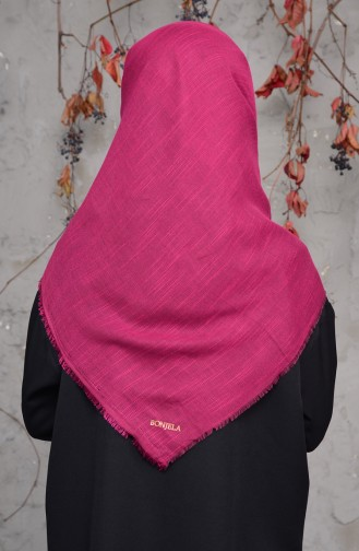 Cotton Scarf 2144-13 Pink Black 2144-13