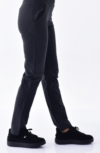 Sweatpants With Pockets 1341-03 Anthracite  1341-03