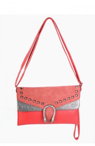 حقيبة كتف أحمر 42333-06