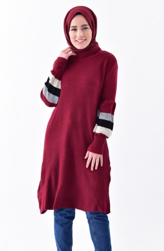 Pull Tricot 4035A-03 Bordeaux 4035A-03