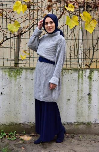 Gray Sweater 4017-09