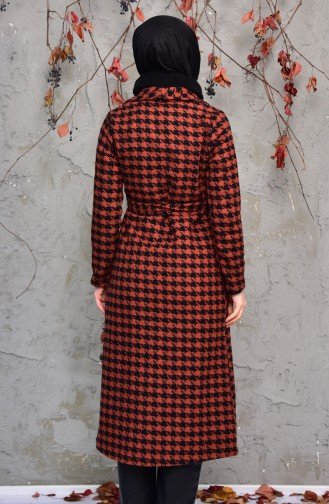 Belted Coat 50291A-01 Tobacco 50291A-01