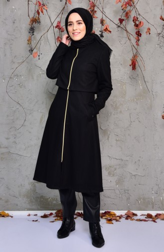 Pocketed Cape 50367-06 Black 50367-06