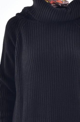Choker Knitwear Sweater 4023-06 Black 4023-06