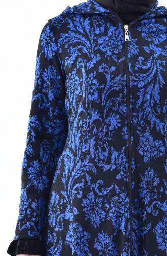 Zippered Asymmetric Cape 5052A-01 Saks 5052A-01