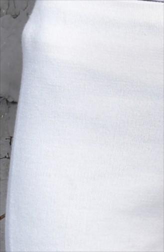 Knitwear Wide Leg Trousers 9025-02 Cream 9025-02
