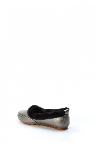 فاست ستيب حذاء مُسطح 001Za100 لون بلاتين 001ZA100-16778180