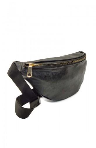Women Waist Bag U0001-01 Black 0001-01