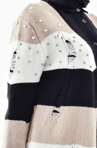 Pearly Knitwear Cardigan 8025-01 Mink 8025-01