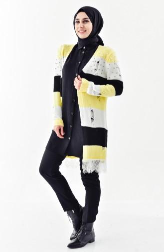 Pearly Knitwear Cardigan 8025-03 Yellow 8025-03