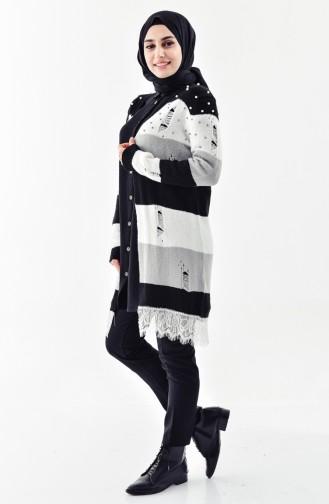 Pearly Knitwear Cardigan 8025-05 Black 8025-05