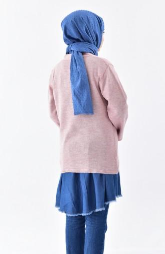 Tricot V-Neck Sweater 2078-08 Powder 2078-08