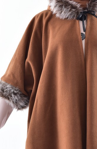 Hooded Polar Fleece Poncho 1002-06 Taba 1002-06