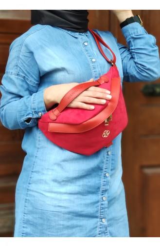 Womens Waist Bag  AVB002-03 Red 002-03