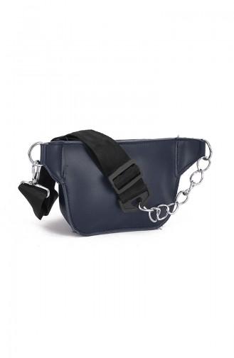 Women Waist Bag BS10495LA Navy Blue 10495LA