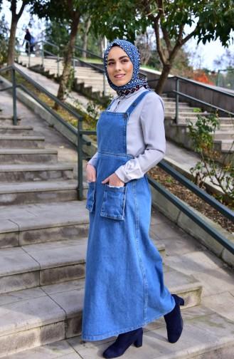 Pocket Jean Jilet 4423-01 Jean Blue 4423-01