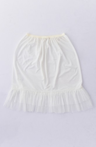 Tutu Detail Mini Lining 1006-02 White 1006-02