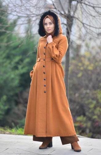 Fur Fleece Coat 4431-04 Ginger 4431-04