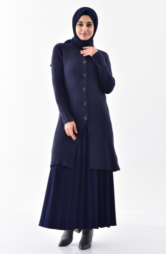 Navy Blue Tricot 3916-07