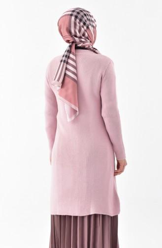 Buttoned Knitwear Cardigan 3916-05 Powder 3916-05