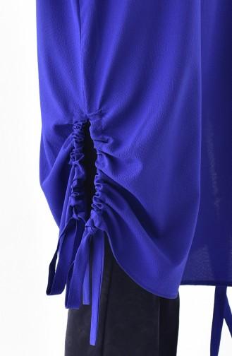 Elastic Sleeve Tunic 5003-04 Saks 5003-04