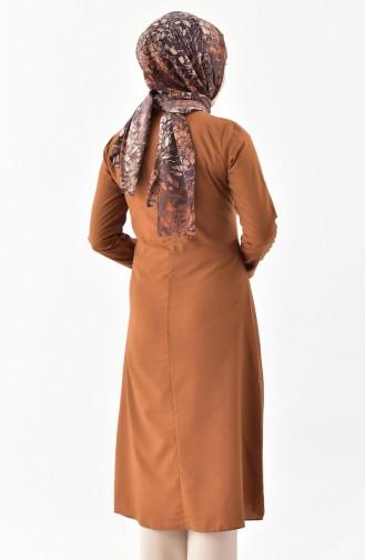 Tie Collar Tunic 1084-05 Taba 1084-05