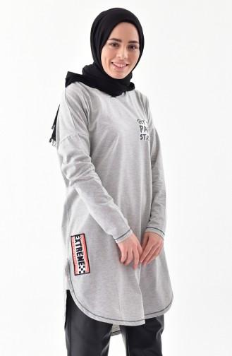 Gray Tunic 1119-01