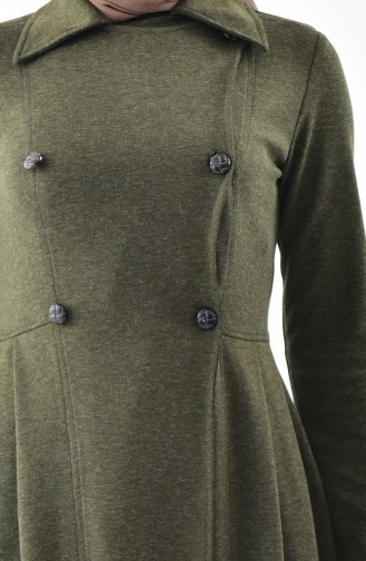 TUBANUR Pocket Pleated Cape 3041-04 Khaki 3041-04