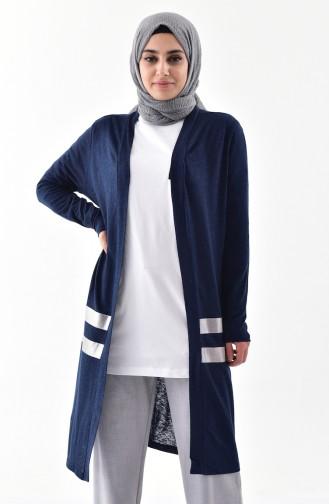 Gilet Garnie 1064-01 Bleu Marine 1064-01